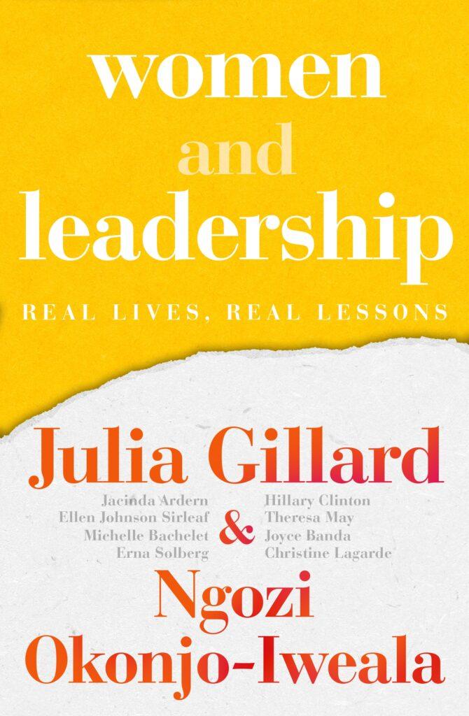 Photo of Julia Gillard book on Women and Leadership